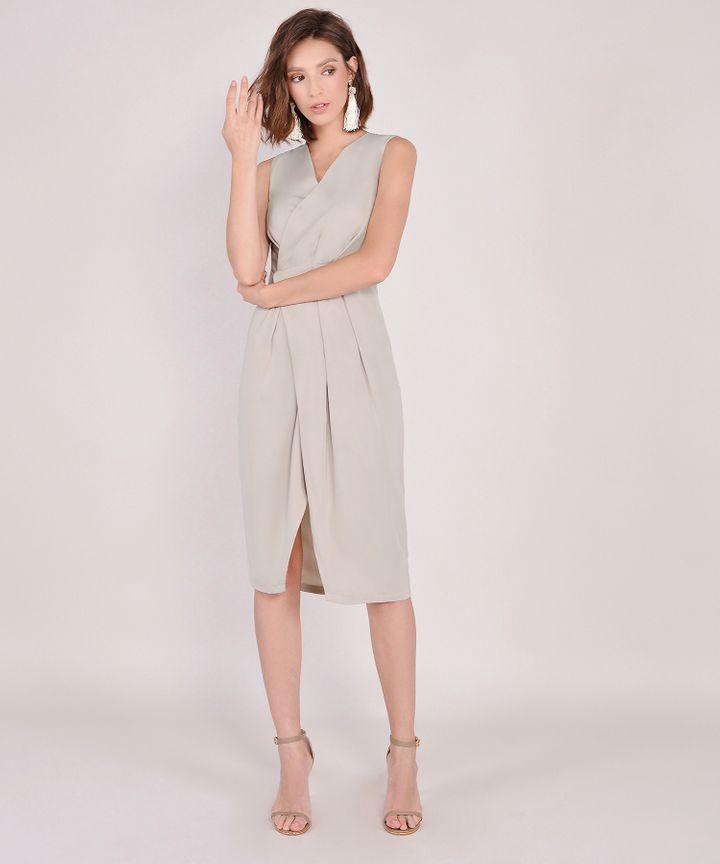 Suzanne Corporate Midi - Pebble Grey