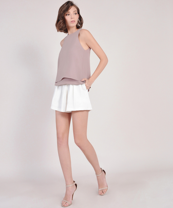 Alpine Skorts - White