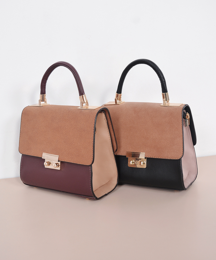 Sandy Contrast Bag