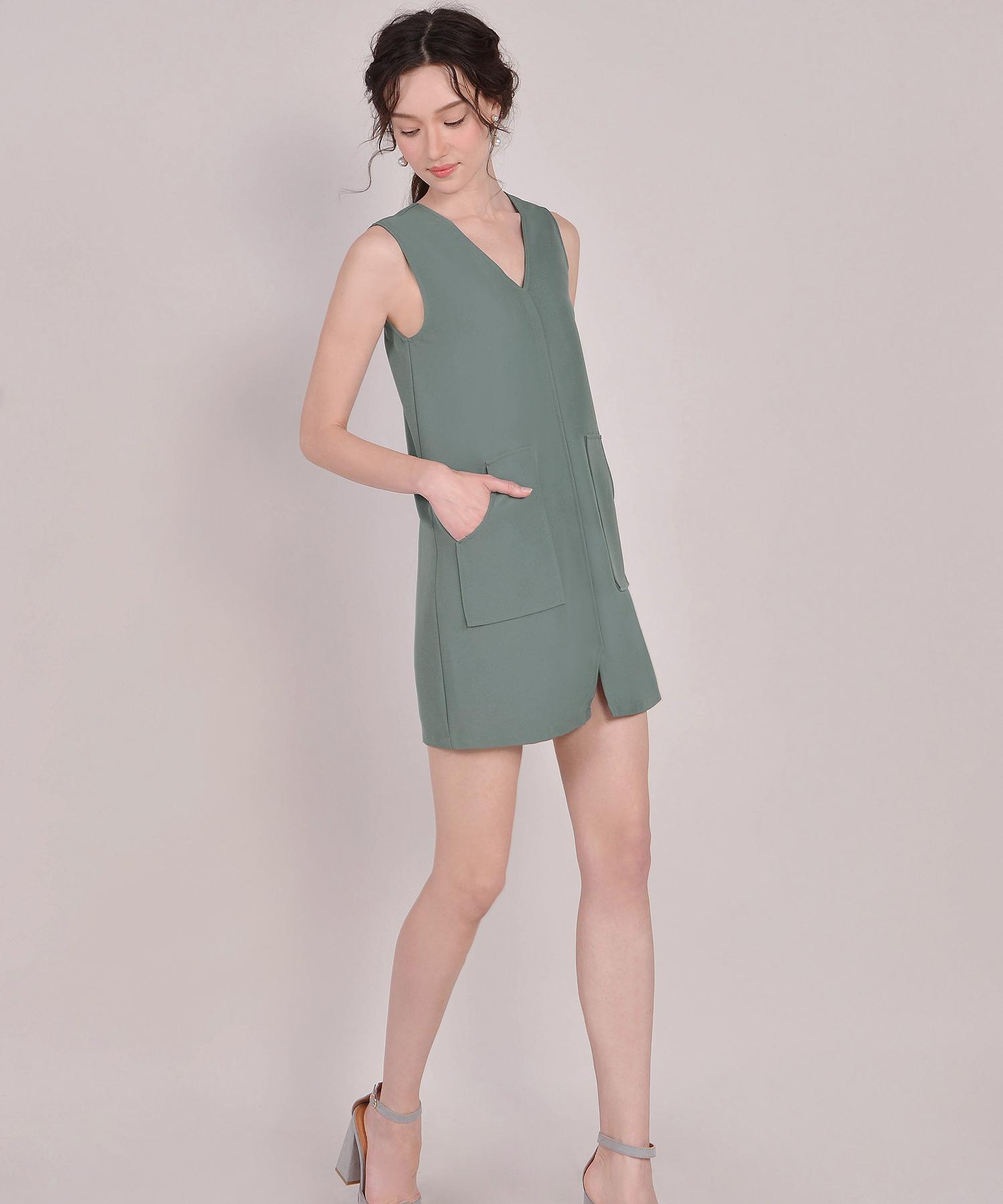 Melrose Dress Beaded Waist