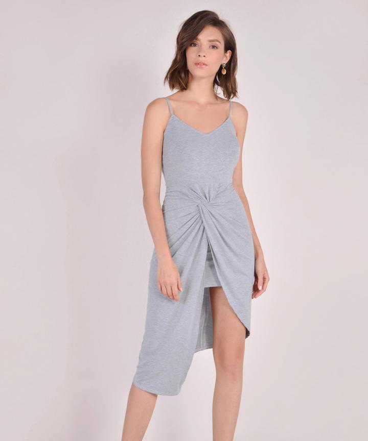 Arianna Knot Midi - Grey