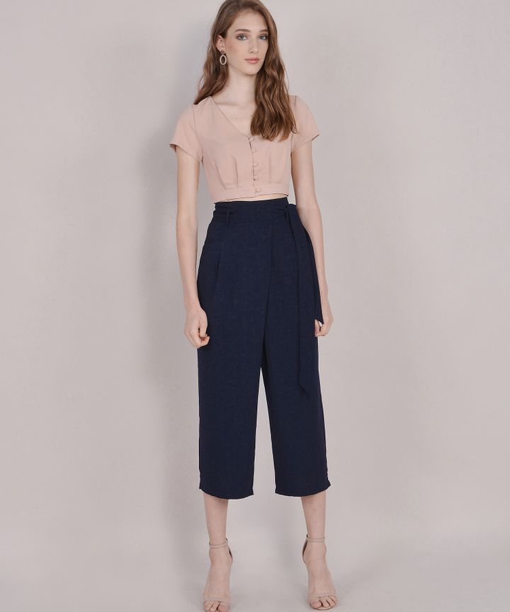 Clyde Trousers - Midnight Blue