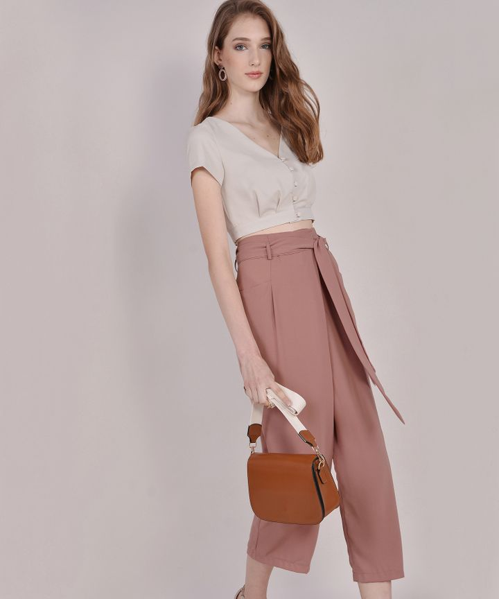 Clyde Trousers - Terracotta