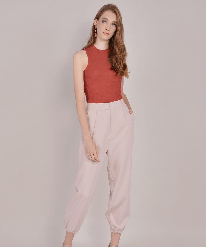 Felicity Pants - Nude Pink