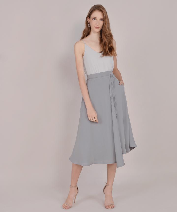 Anise Basic Camisole - Pale Grey