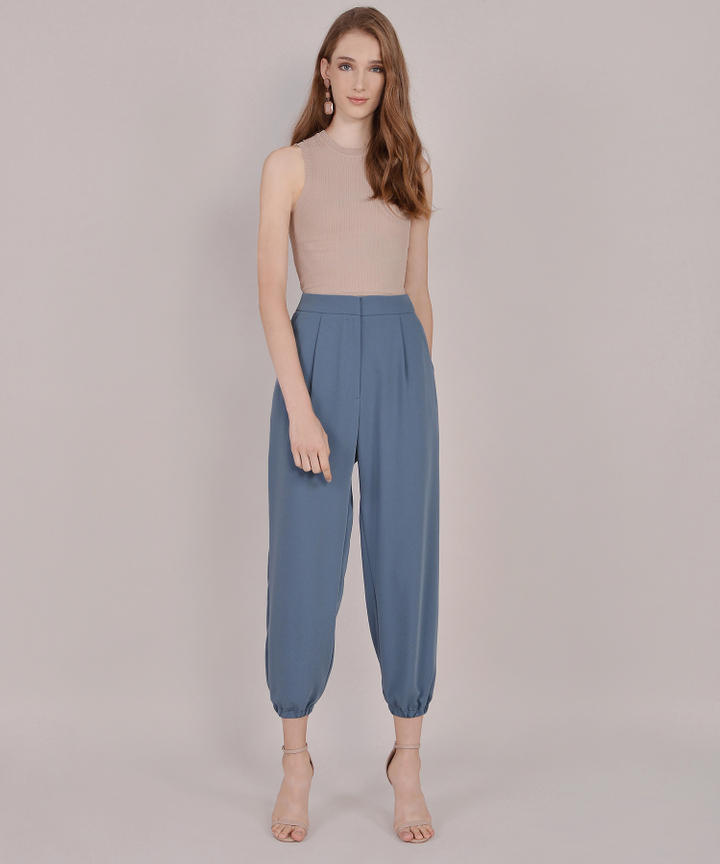 Felicity Pants - Dust Blue