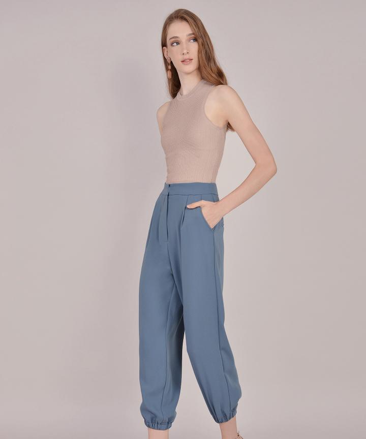 Felicity Pants - Dust Blue