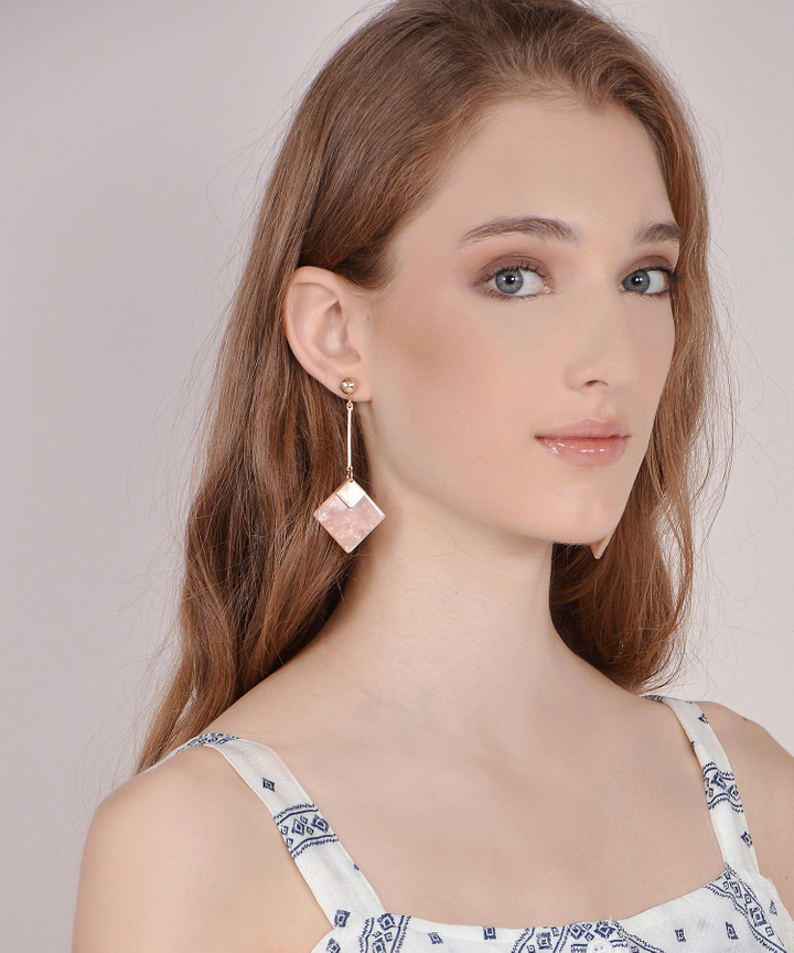 Square Drop Earrings (Restock)