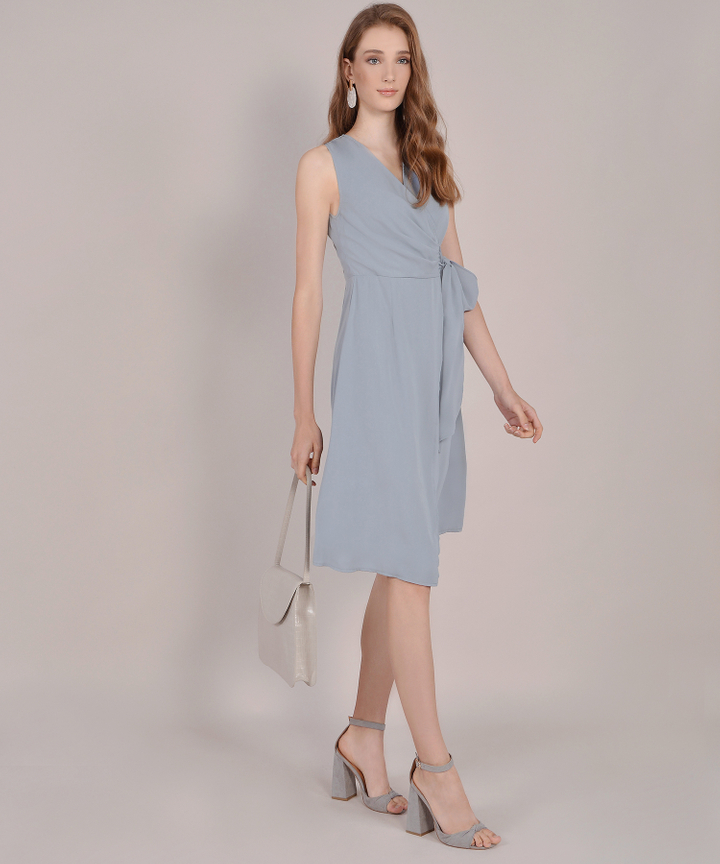Suzette Corporate Midi - Mist Blue