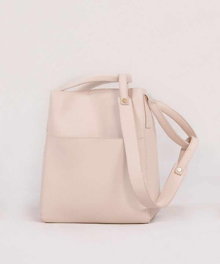 Mascarpone Bucket Bag - Cream