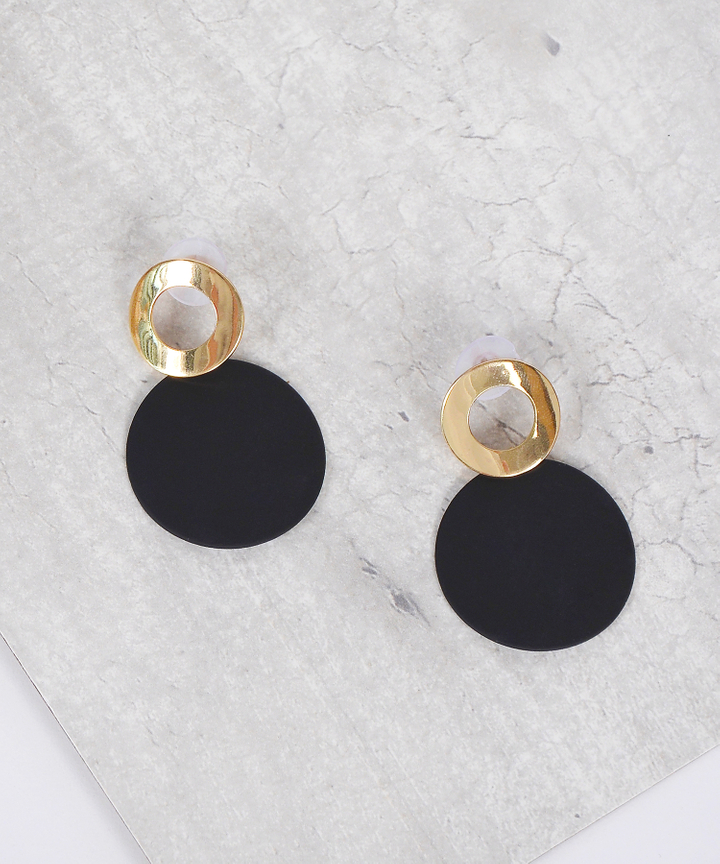 Vermont Circle Earrings