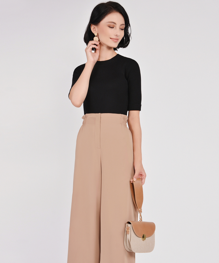 Cleo Culottes - Toffee