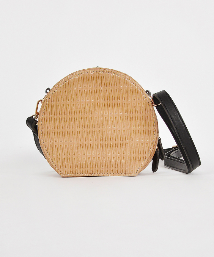 Ezra Woven Bag - Beige