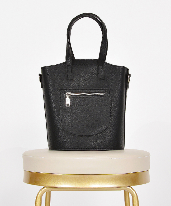 Kinsley Hand Bag - Black