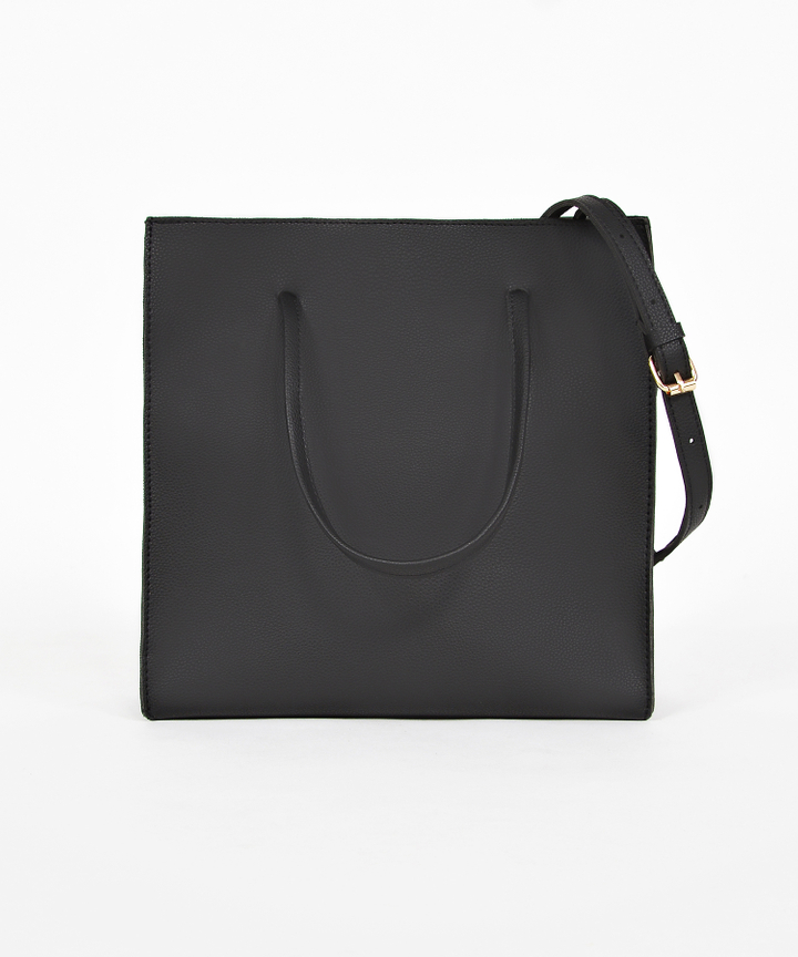 Quincy Convertible Handbag - Black