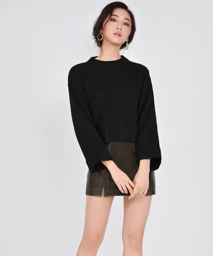 Maya Sweater - Black