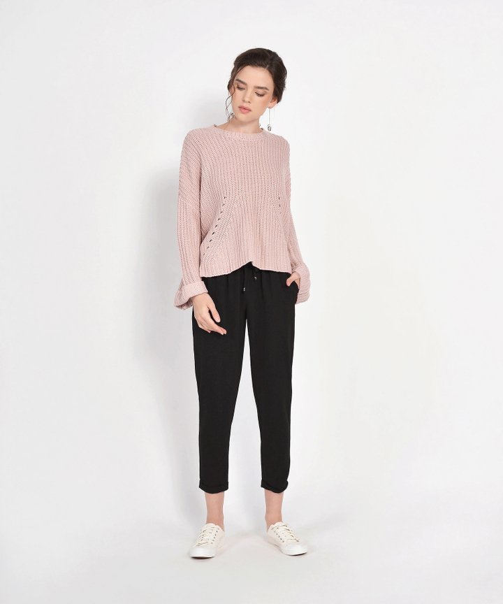 Zelda Relaxed Trousers - Black