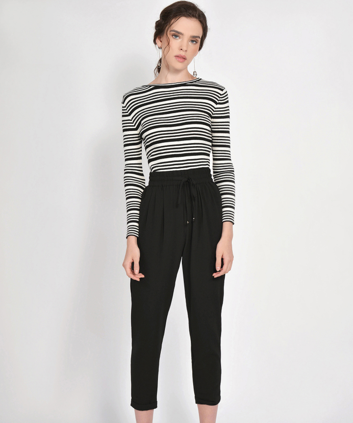 Emma Striped Knit Top