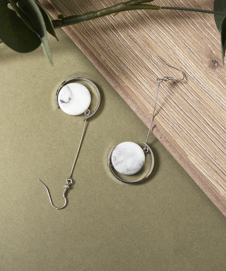 Crescent Drop Earrings