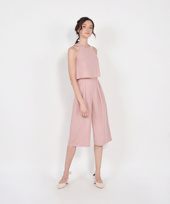 Dion Two-Piece Set - Blush Pink
