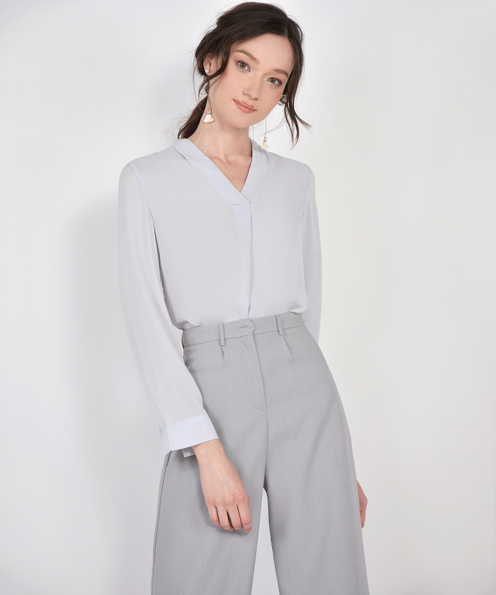 Angelo Blouse - Grey