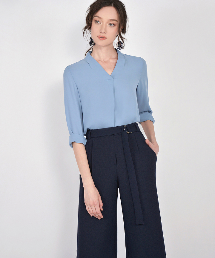 Angelo Blouse - Blue