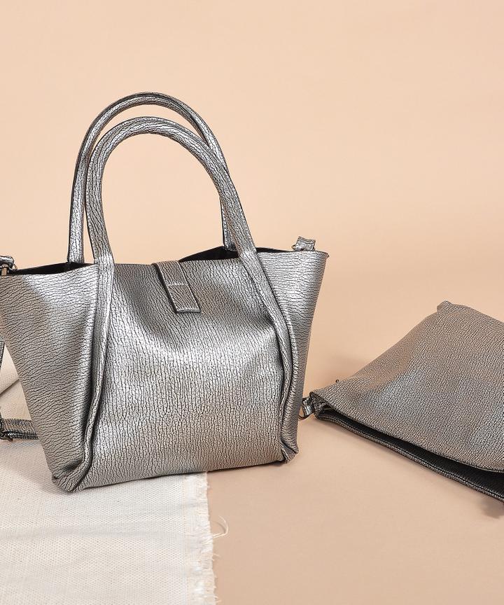 Winona Handbag - Silver