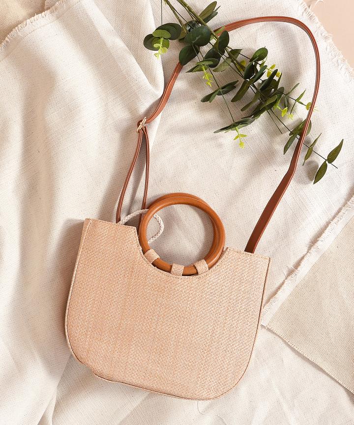 Caribbean Straw Bag - Natural