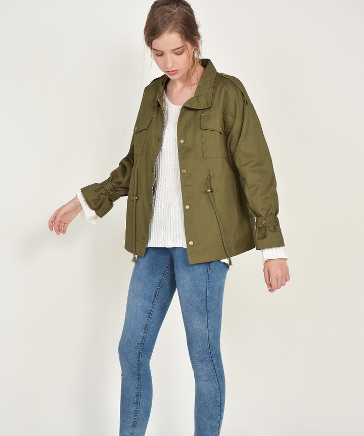 Rodriguez Jacket - Army Green