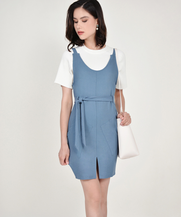 Muse Pinafore Dress