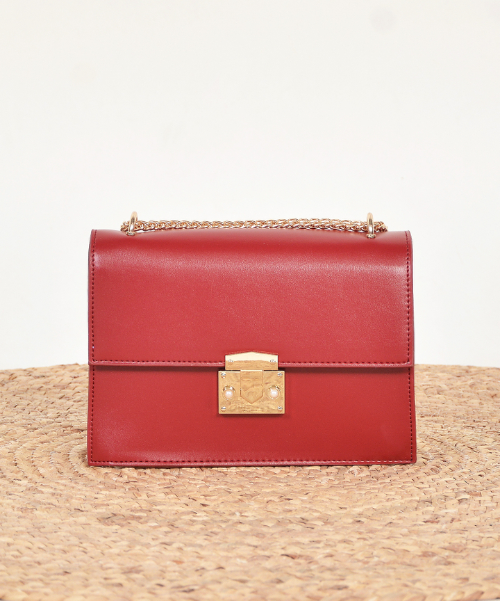 Demi Crossbody Bag - Red