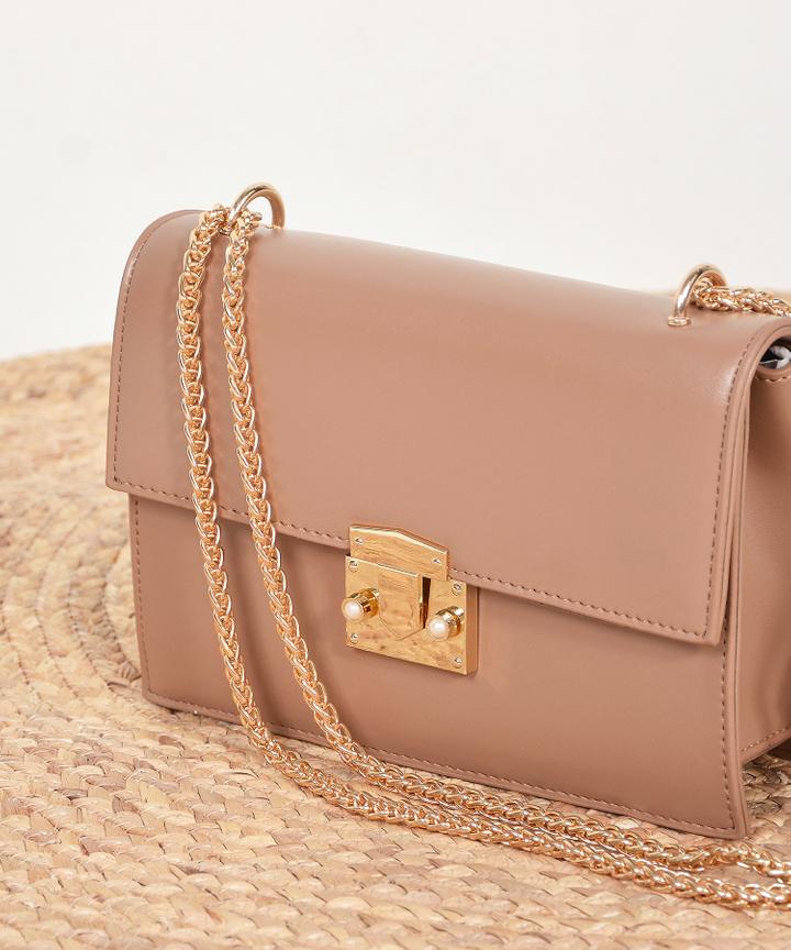 Demi Crossbody Bag - Brown