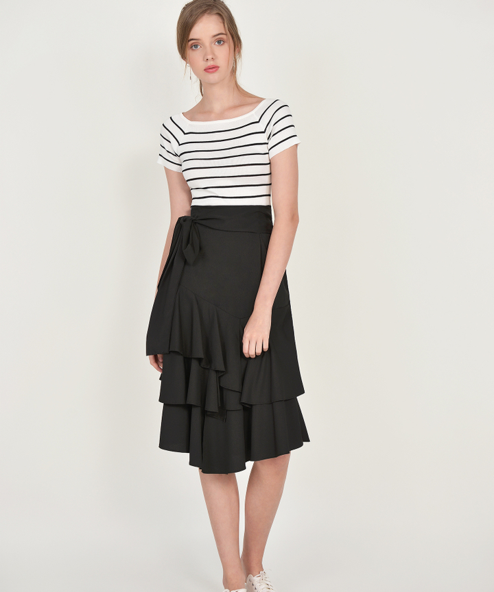 Gladys Tiered Skirt