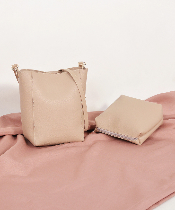 Avery Sling Bag - Beige