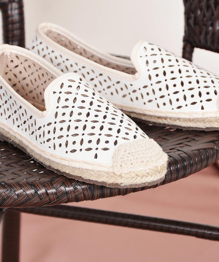 Maple Eyelet Loafers - Restock