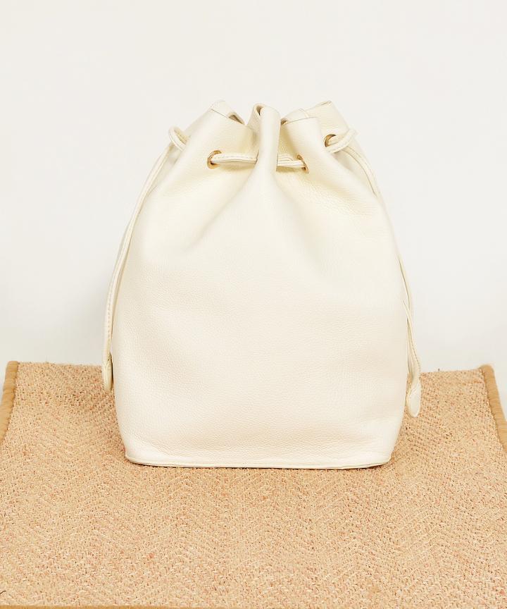 Wren Bucket Bag - Off-White