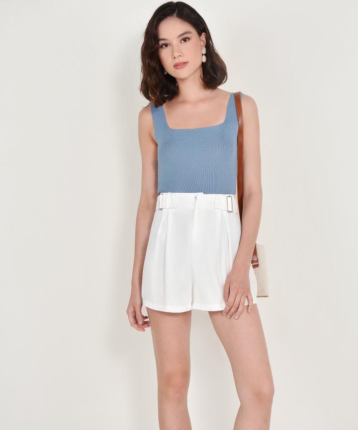 Aimee Knit Tank - Dusk Blue (Backorder)