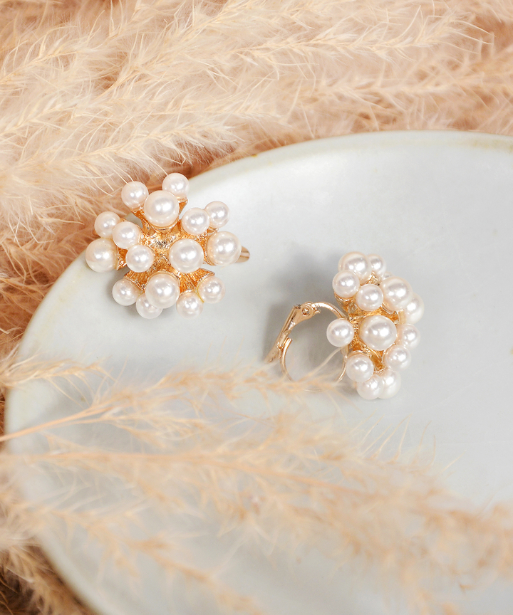 Fortune Pearl Earrings