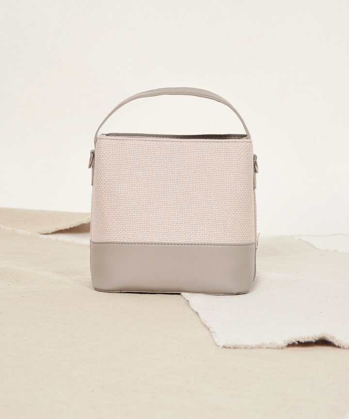 Freida Bucket Bag - Stone Grey