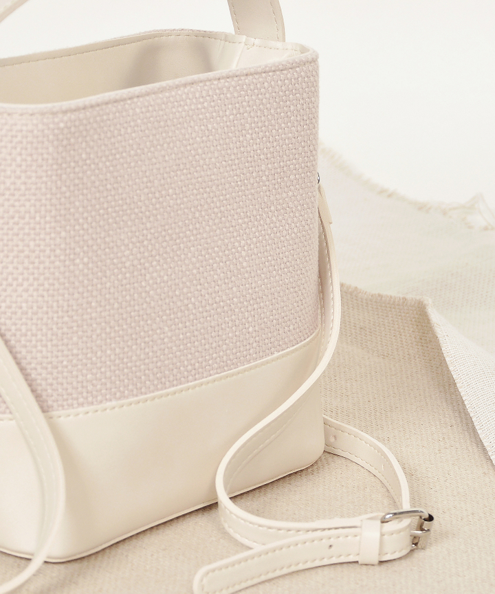 Freida Bucket Bag - Cream