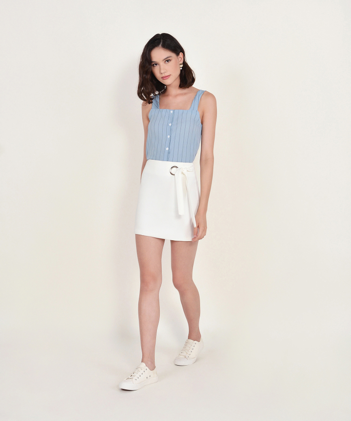 Jackie Skirt - White
