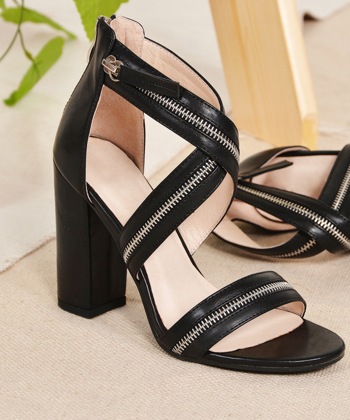 Marina Zip Heels