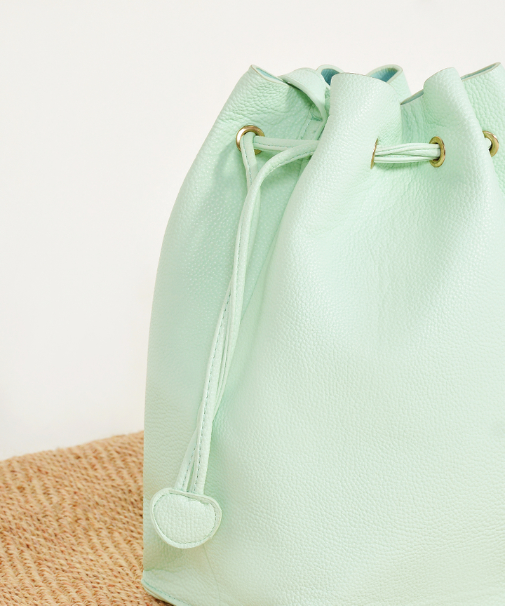 Wren Bucket Bag - Mint