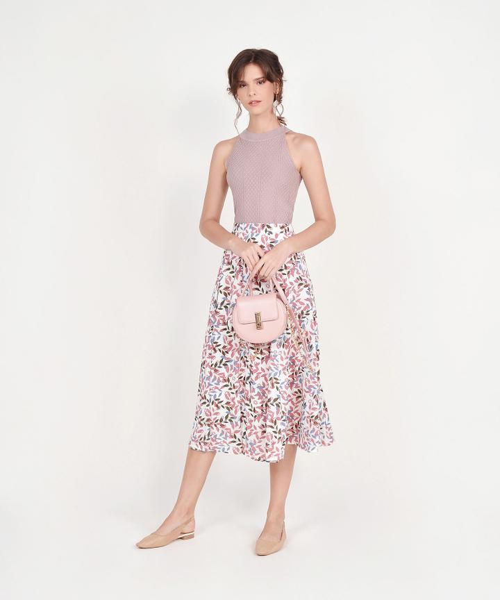 Fika Saddle Bag - Pink