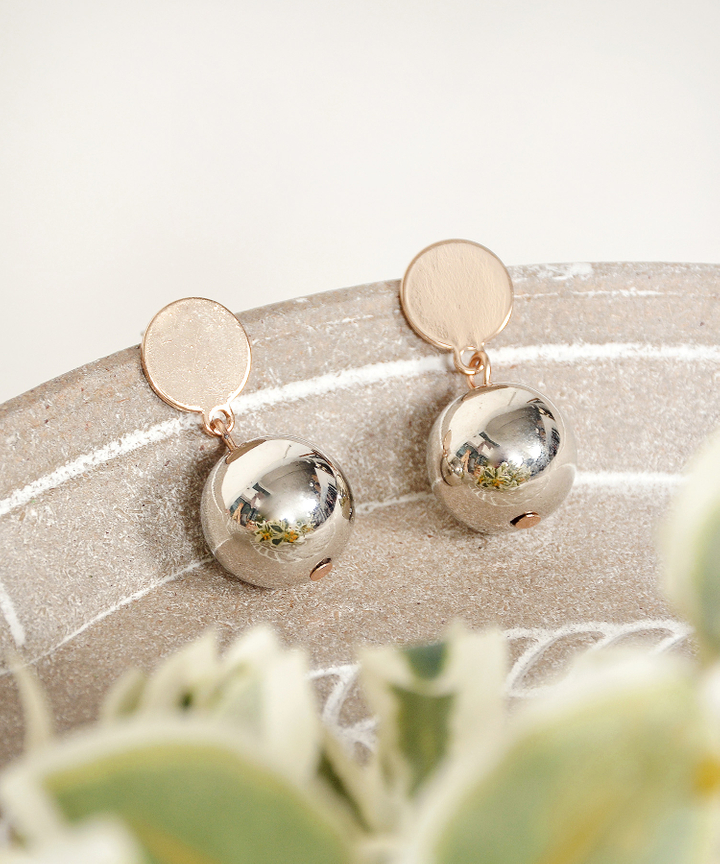 Tempo Ball Earrings