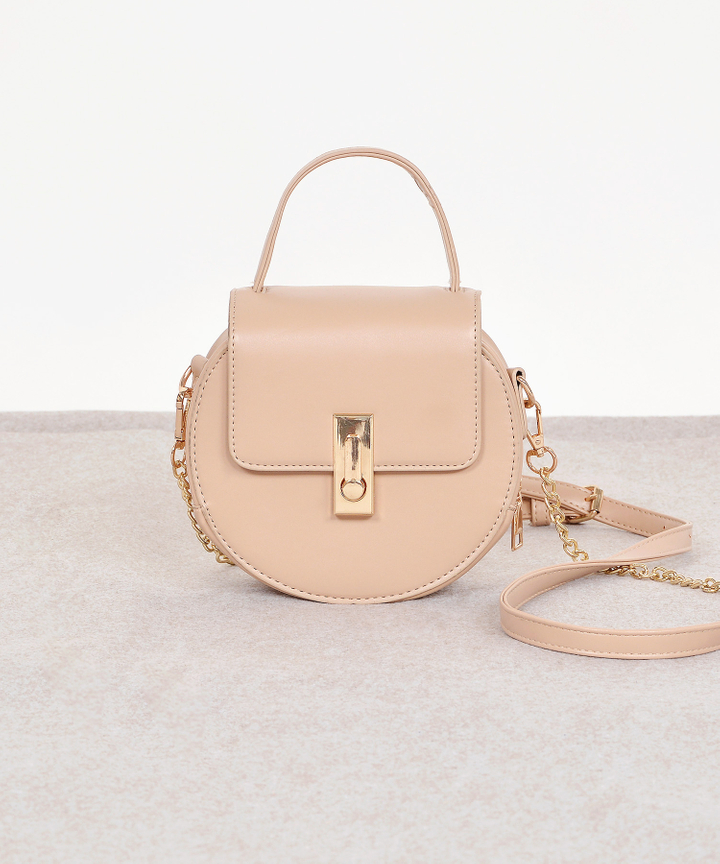 Fika Saddle Bag - Nude