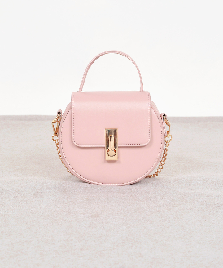 Fika Saddle Bag - Pink