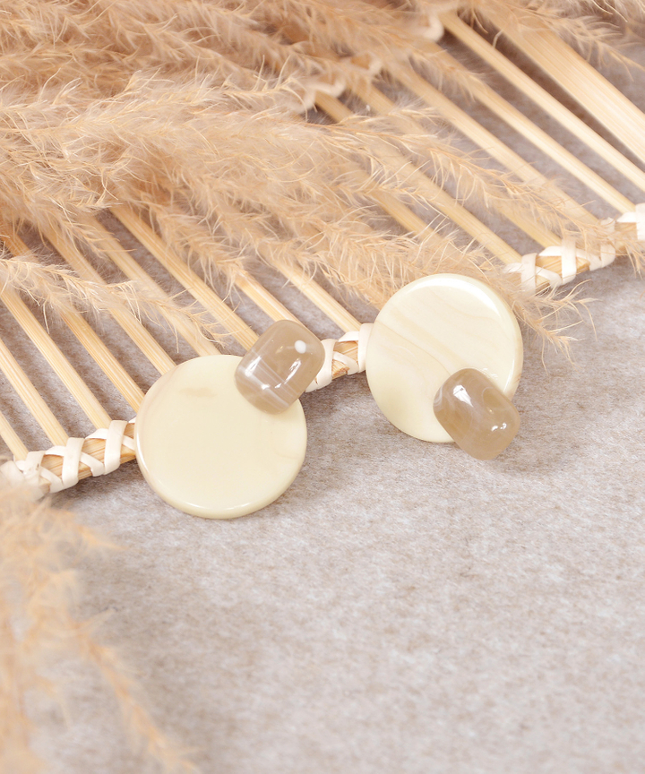 Mable Circle Earrings