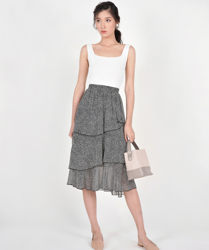 Merry Tiered Skirt