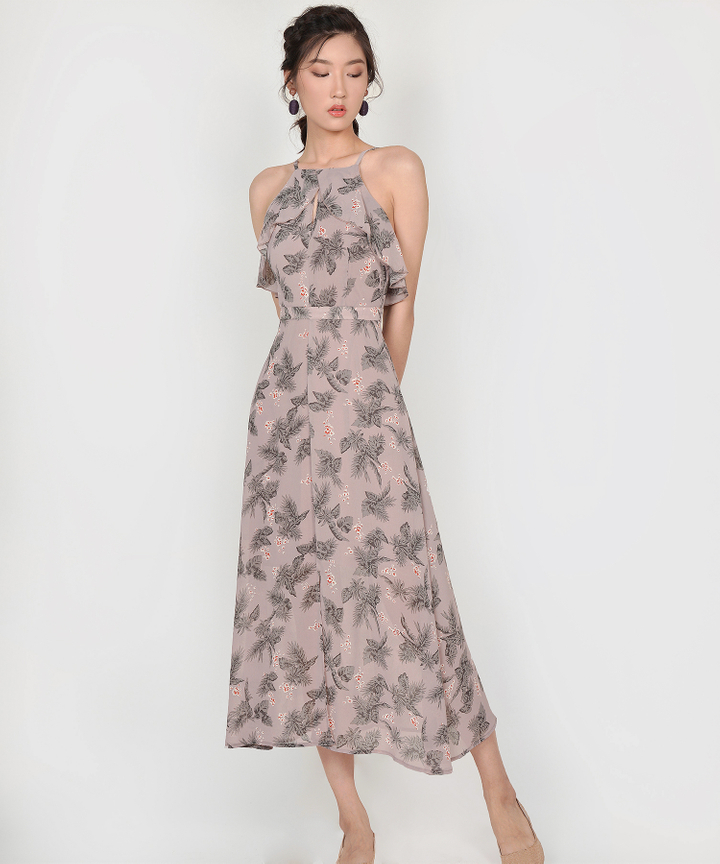 Jacinta Floral Maxi Dress - Lavender